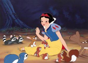 Animacje Disneya Królewna Śnieżka