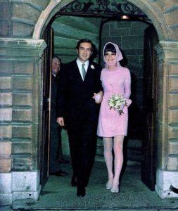 Andrea dotti i Audrey Hepburn