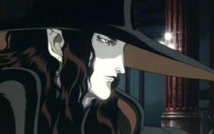 Anime o wampirach - Vampire Hunter D