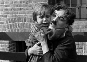 Charlie Chaplin Brzdąc
